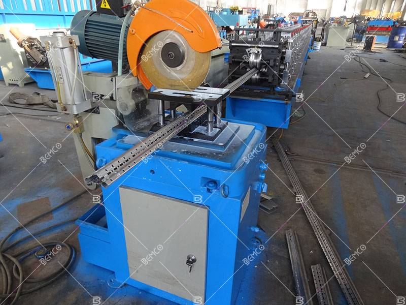 electrical enclosure mounting frame roll forming machine