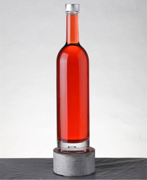 Hot sell high quality wholesale liquor prices luxury wine bottle