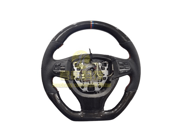 Customized carbon fiber car steering wheel