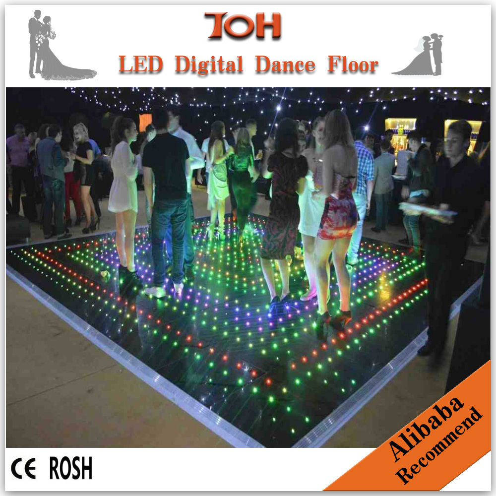 Led dance floor panels led video dance floor