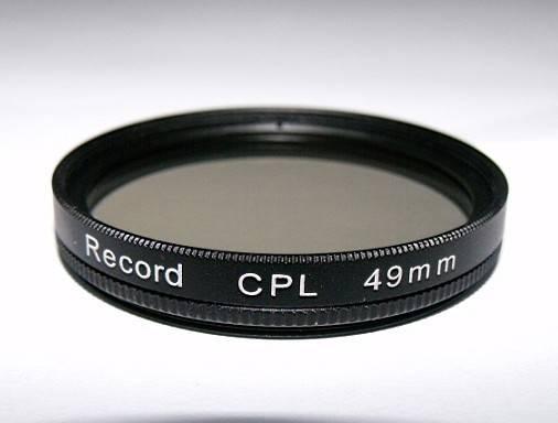 49mm circular polarizing filter camera CPL filter