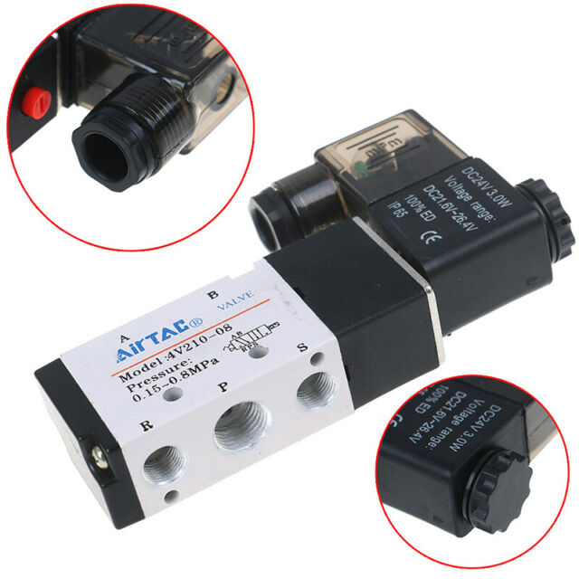 all type of AirTac Solenoid Valves
