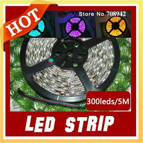 5050 60leds RGB led waterproof led strip light swimming pool led strip light