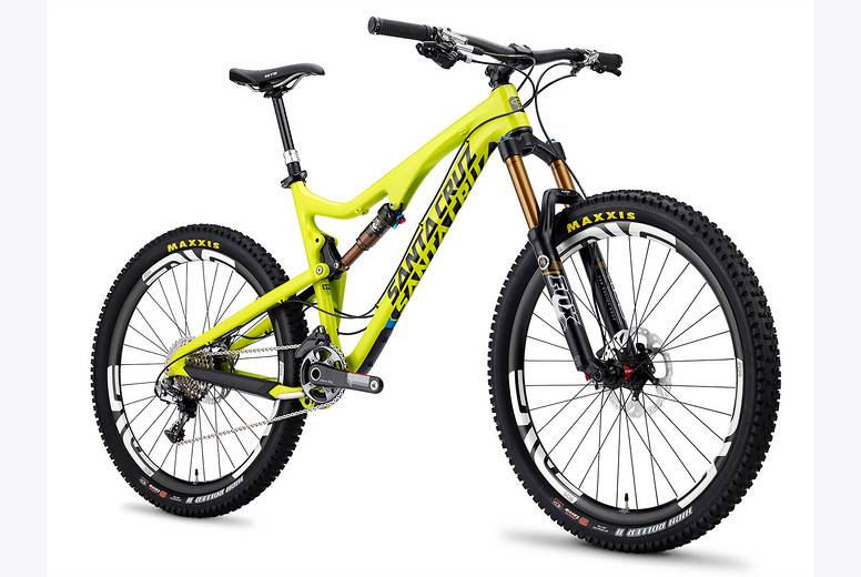 Santa Cruz Bronson Carbon C S AM 650b Mountain Bike 2016