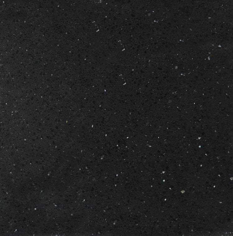 Black galaxy artificial stone
