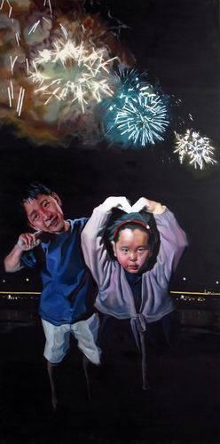 Chinese contemporary famous original artwork