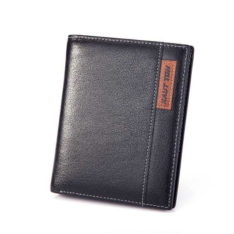 qb28 leather wallet men wallet