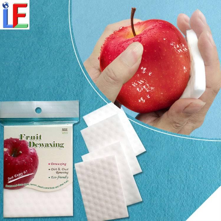 Excellent Technology Professional Fruit Dewaxing Sponge