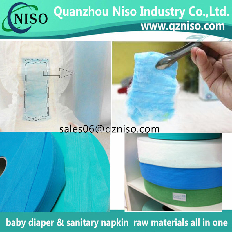 High quality acquisition layer non woven fabric for baby diaper