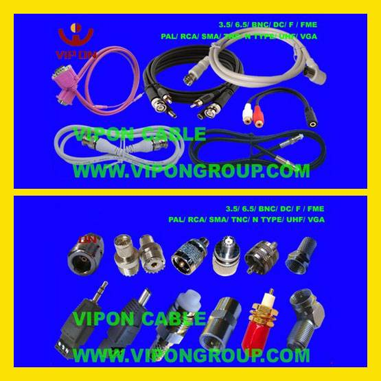 Cable Assembly, RF Connector