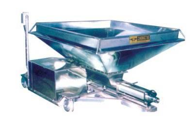 Auto-feeding pump