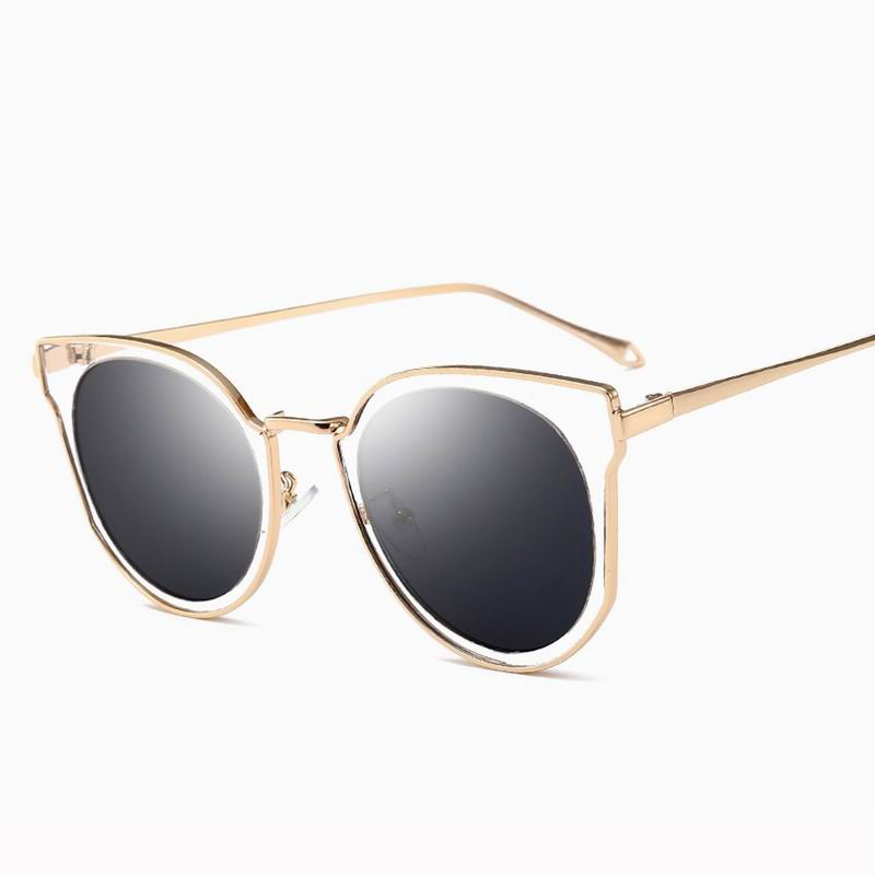 Vintage Cat Eye Fashion Colorful Sunglasses For Women
