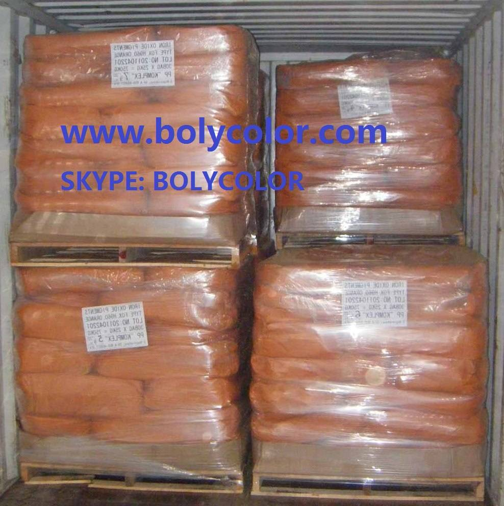 Supply Iron Oxide Orange from Bolycolor