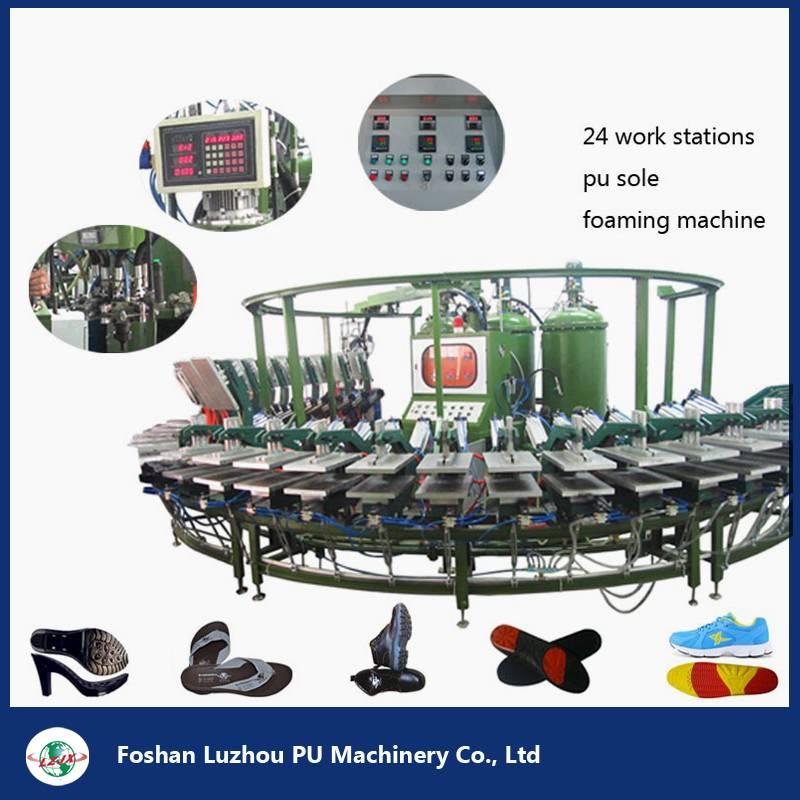 Shoe Sole Polyurethane Foaming PU Machine