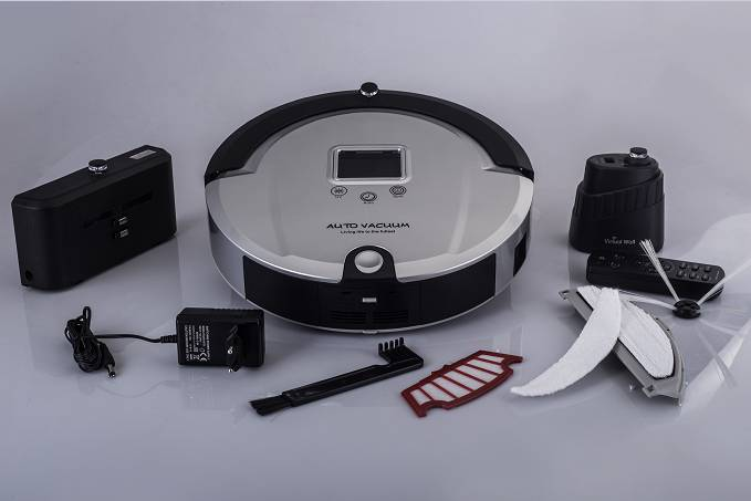 wireless Anti-Fall and Anti-Collision robot vacuum cleaner