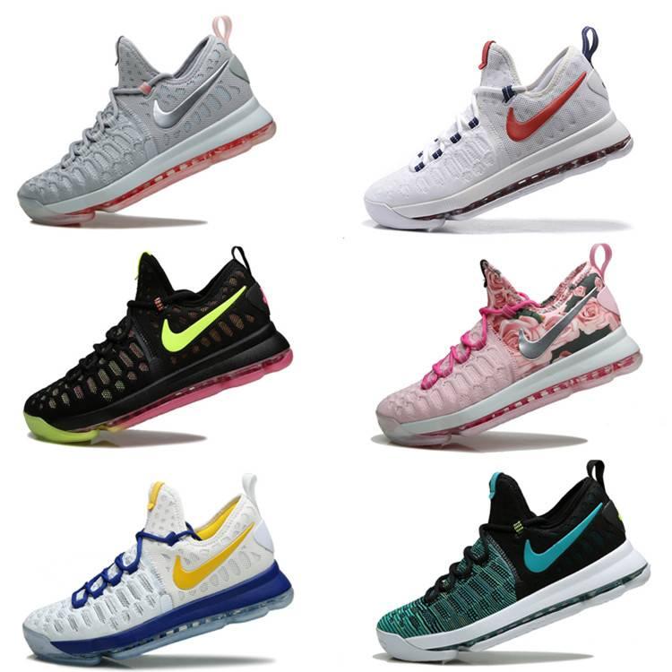 nike Basketball Shoes Sneakers Kd 9 Runing Kevins Kds VIIII Lowe Elites Black Durant Men Original Kd