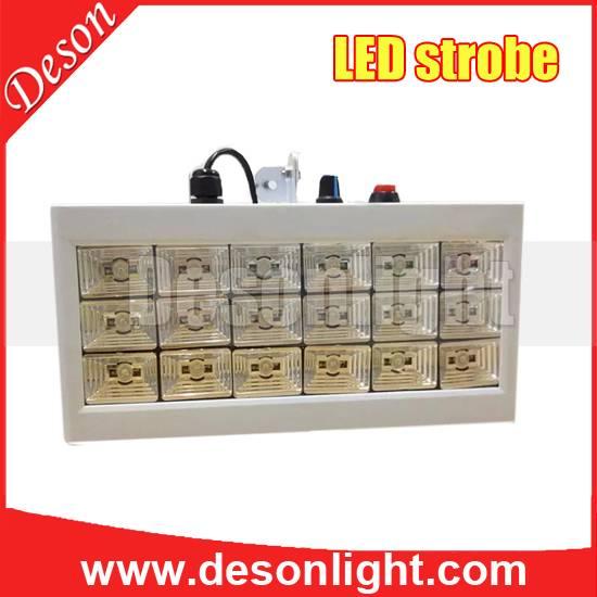 18 1w full-color LED Voice Strobe Strobe stage lighting show ktv bar lights stage lights flash LD-18