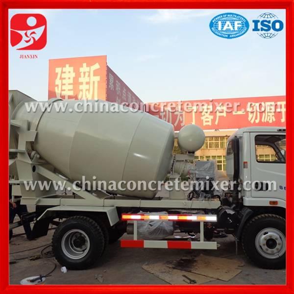 Low price concrete mixer truck