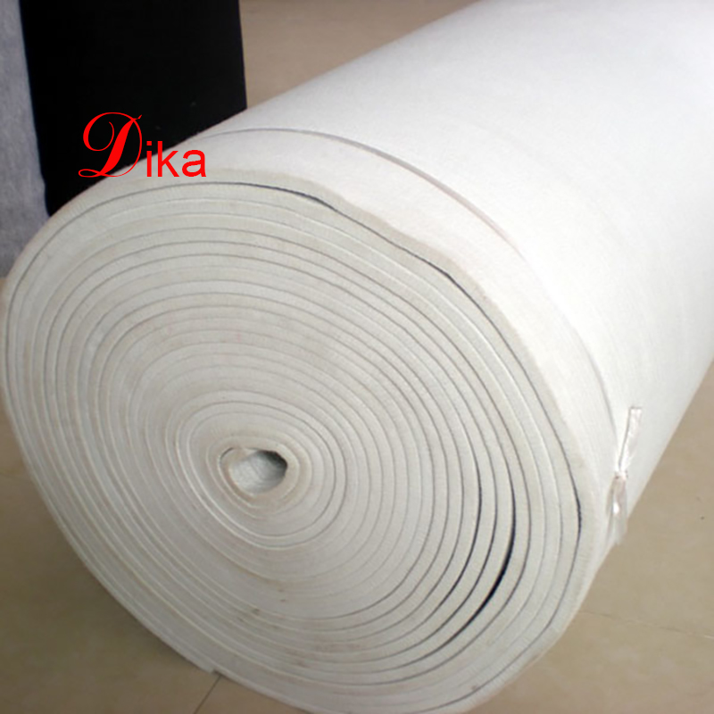 10mm thick industrial needle punched polyester felt roll for steel slitting machine