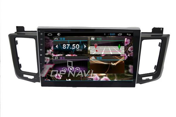 1024*600 10.1inch Android 4.4 Car GPS Player Video For Toyota RAV4 Navigation