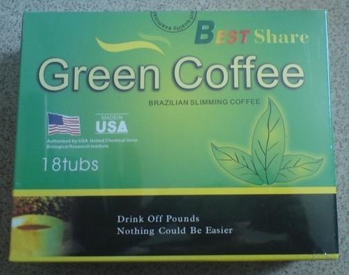 Best Share Green Coffee Brazilian Slimming Coffee(18packs)
