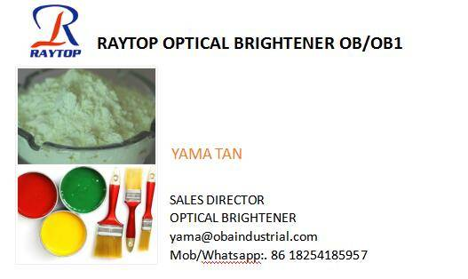 Plastic Optical Brightener OB (OBA 184 )for Coating and inks