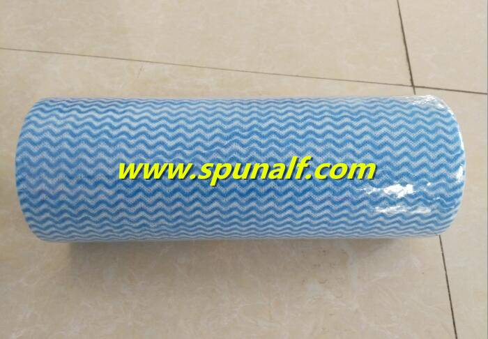 Lint-Free Softness  Spunlace Nonwoven Fabric for Cleaning Wipes