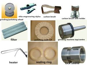 spare parts for rotogravure cylinder making