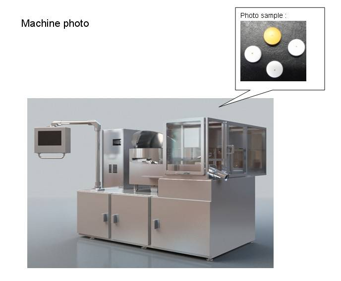 Tablet Laser Drilling Machine of China Pharmaceuticl Machine