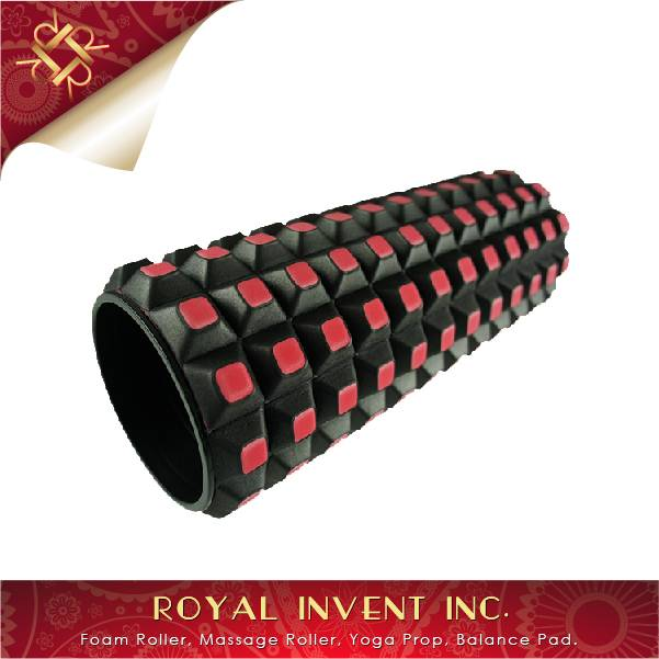 High Quality EVA Grid Massage Checkborad Foam Roller Made In Taiwan