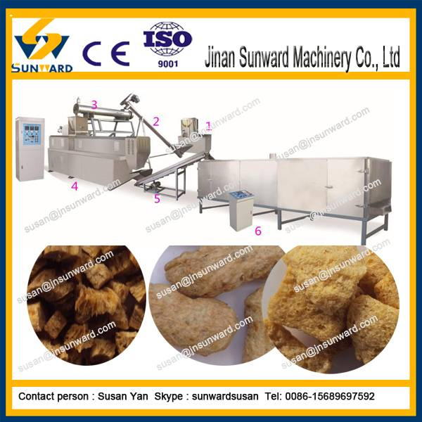 CE high quality soya protein machine