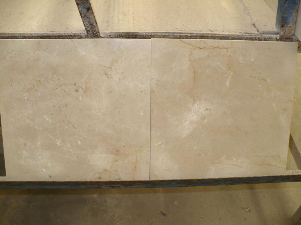 Marble Crema marfil tiles 30,5x30,5x1 cm