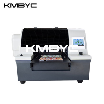 BYC168-A4 uv led 6 channels fast direct digital inkjet flatbed printing machine phone case printer