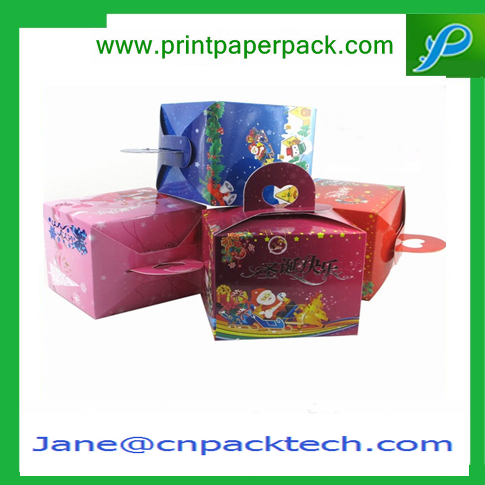 OEM Printing Festivals Boxes Foldable box Christmas Boxes Paper Gift Box