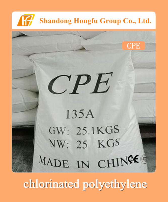 CPE, cpe 135A, chlorinated polyethylene