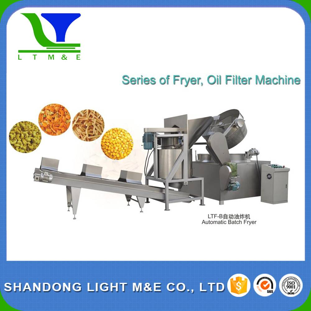 LTF-B Automatic Batch fryer_