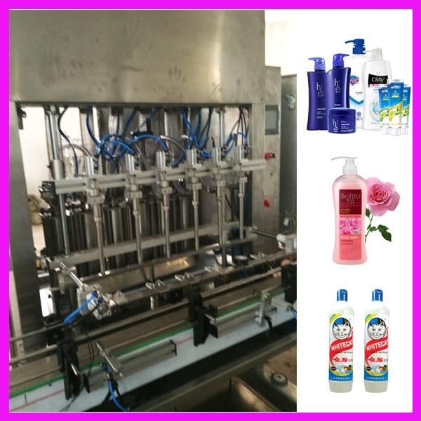 Automatic Bottle Filling Machine/wash liquid shampoo Production Line