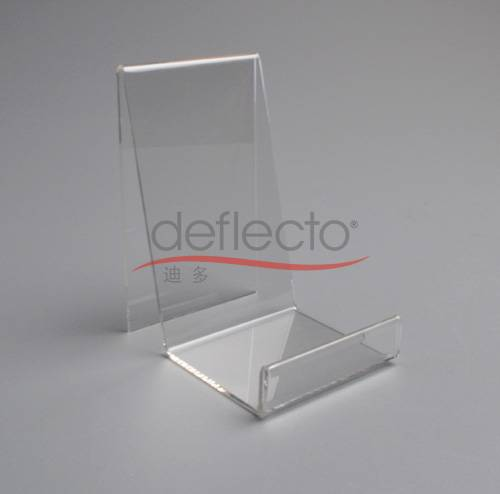 Deflect-o Acrylic Cell Phone Stand,90x114x144(mm)