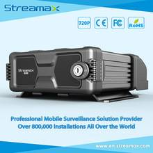 12 Channels HDD Vehicle DVR Streamax X5 with GPS, 3G/4G and WIFI