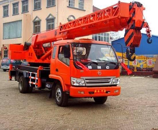8T small crane