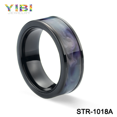 Newest Wholesale Personalized Resin Inlaid Stainless Steel Jewelry