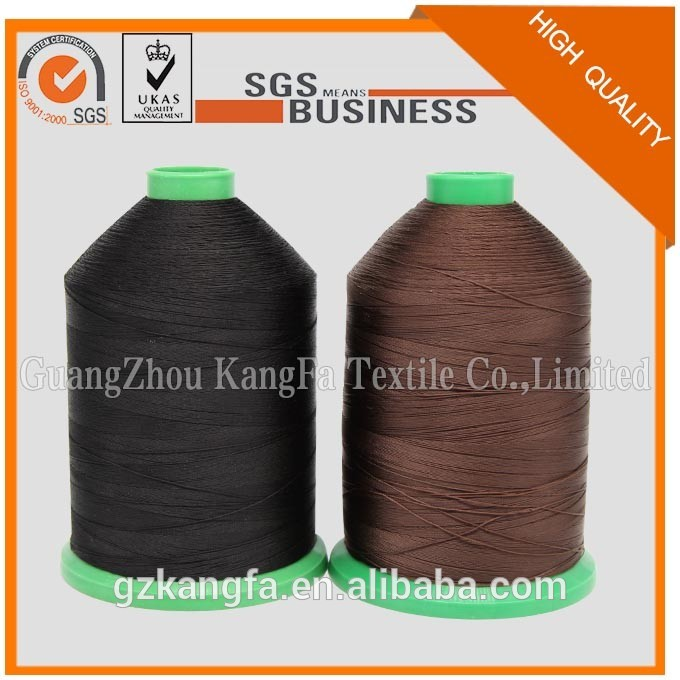 high quality 100% polyester Nylon N6 N66 bonded shoes sewing thread