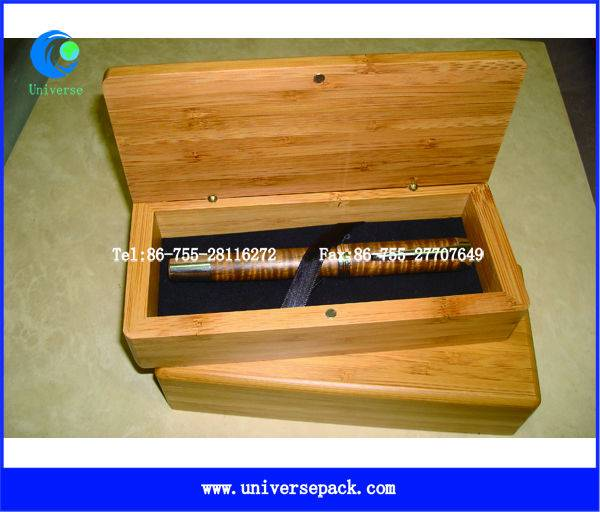Factory  wholesale gift bamboo  box with magnetic