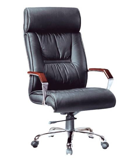 Executive office chairs with leather upholstery LS-104