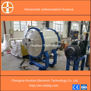 Vertical vacuum induction graphitization furnace