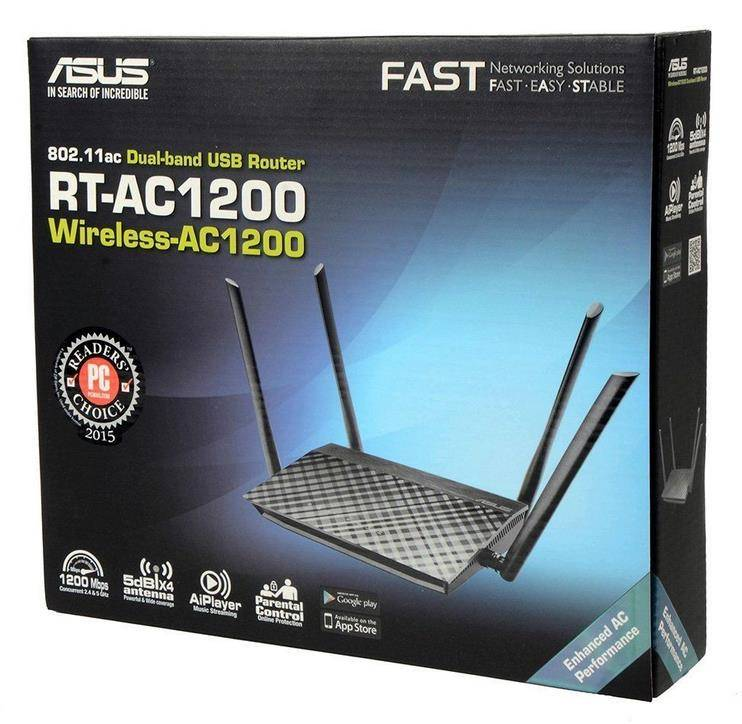 New ASUS RT-AC1200 Dual Band USB 802.11ac 4 Antennas MIMO Wireless WiFi Router