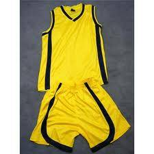 basketball clothing with heat sublimation printing