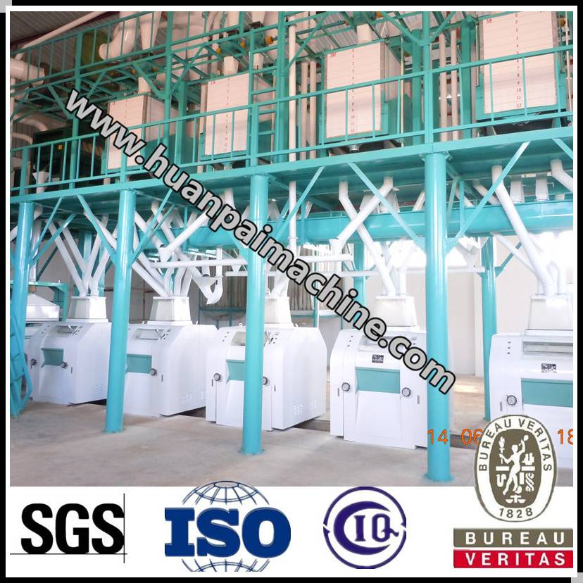 flour machinery for wheat/maize/corn