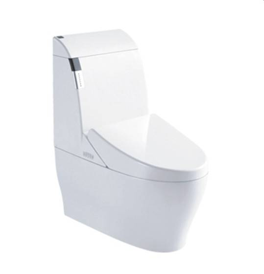 Ceramic white new design one piece wc toilet composting toilet