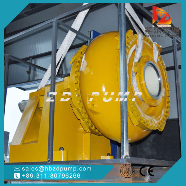 Zidong pump company heavy duty sand dredging pump river gravel pump